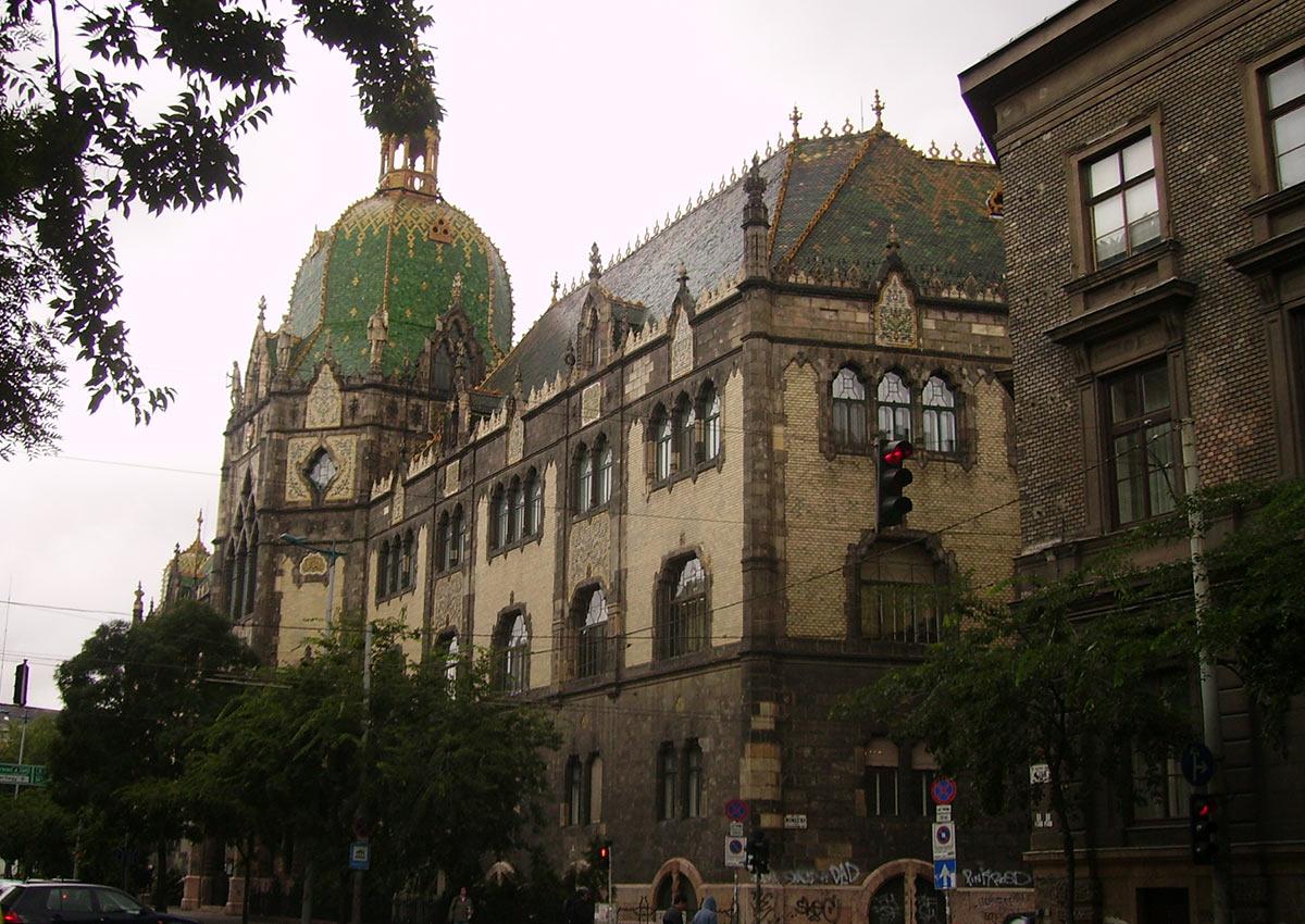 Iparművészeti Múzeum (Museum of Applied Arts) Budapest