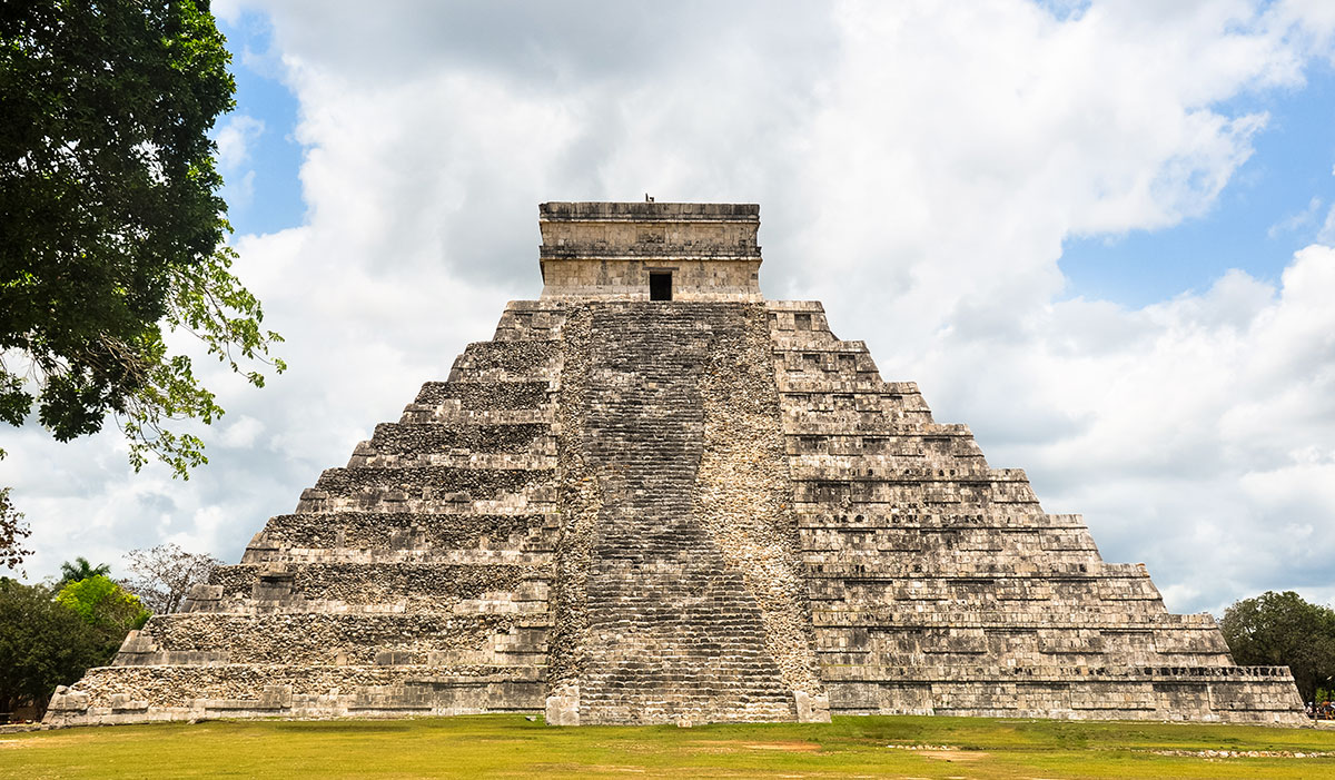 Chichen Itza Temple of Kukulcan 006 | Chichen Itza  –  Yucatan