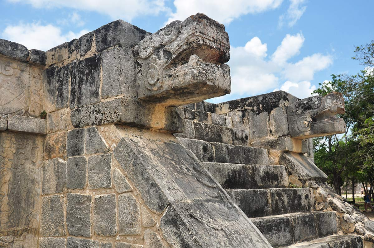 Chichen Itza Plarform of the Eagles 4 1 | Chichen Itza  –  Yucatan