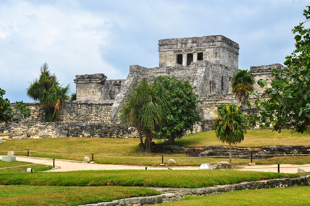 Tulum Mayan city