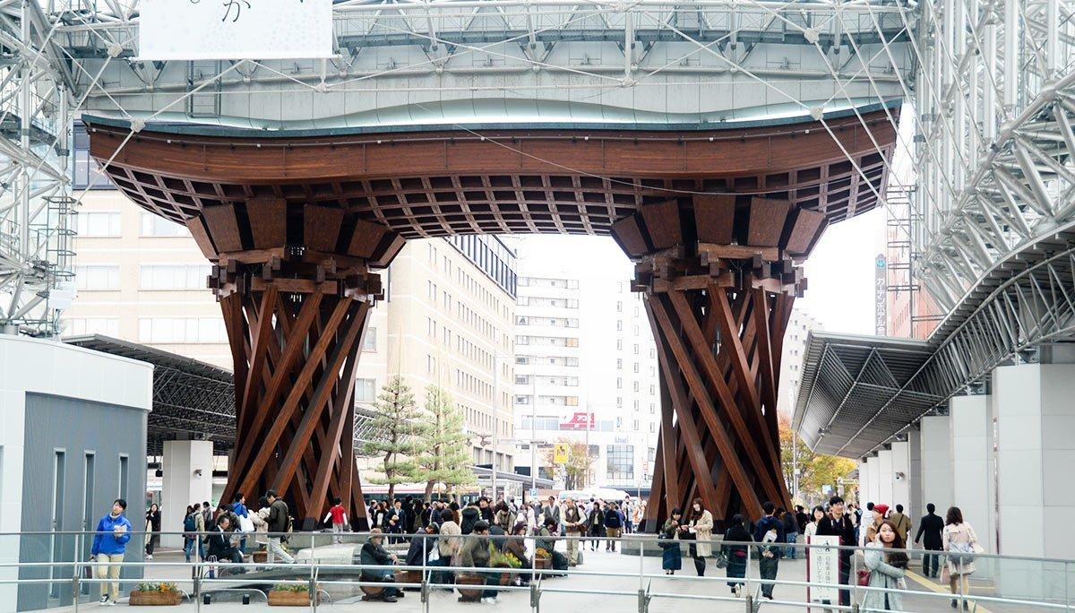Kanazawa Station003   Kanazawa Train Station