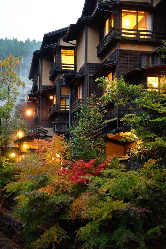 Ryoken hotel in Kurokawa Onsen
