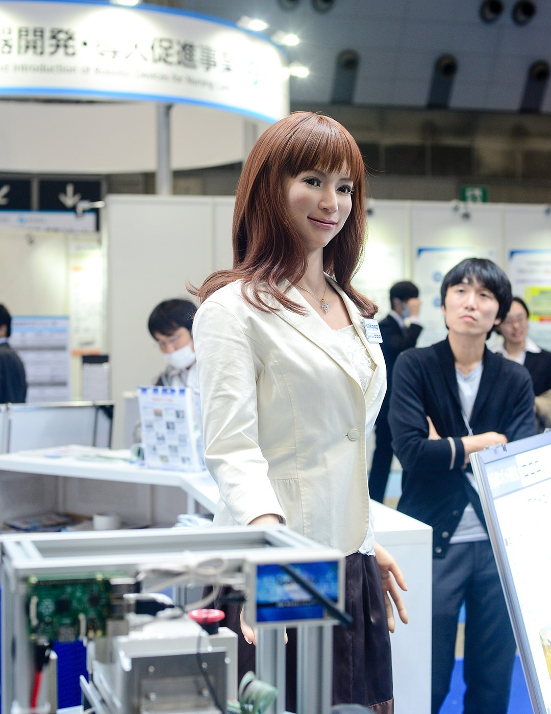 2015-Robot-Show-020 International Robot Exhibition  -  Tokyo, Japan Japan Tokyo  Tokyo Tech Robots Japan Cool