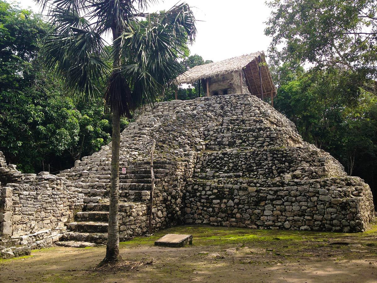 temple Conjunto Las Pinturas at the archeological complex of Coba