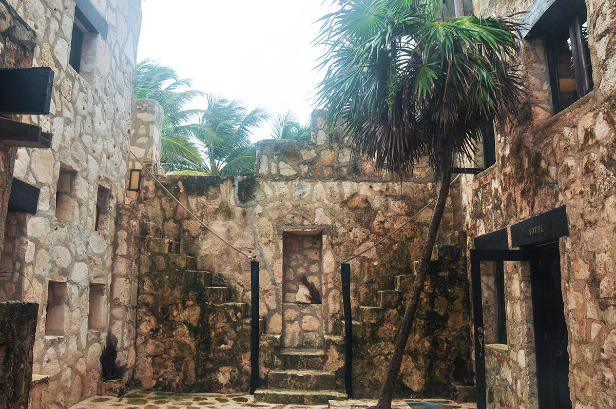 entry to Coqui Coqui Tulum