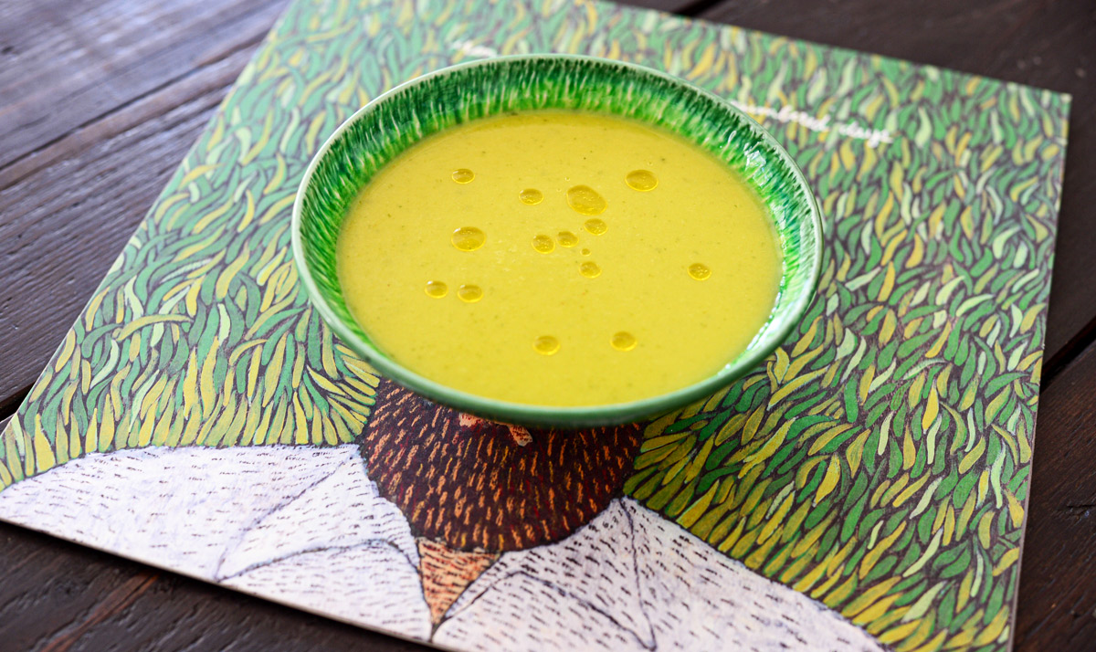 Pineaple soup 005 | Chilled Pineapple Soup