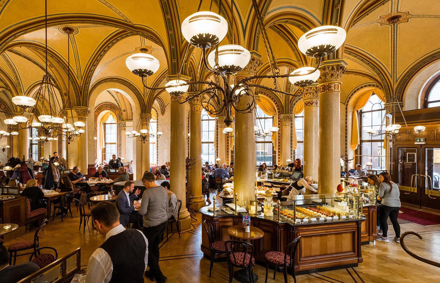 Cafe Central a.canvas.of .light | Café Central  - Vienna