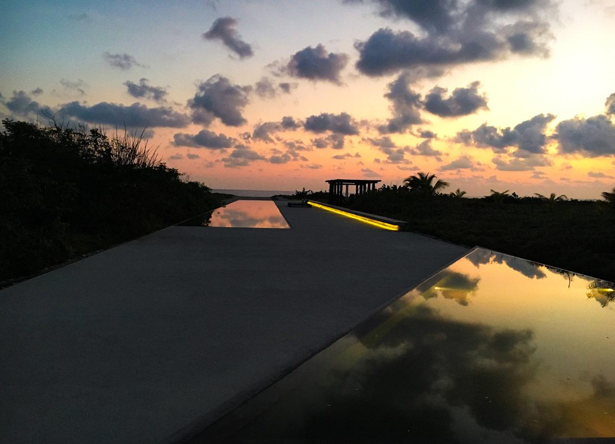 Path to the ocean at Casa Wabi