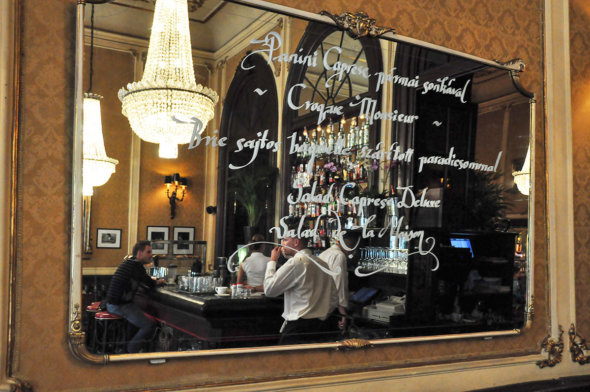 Top Cafe in Budapest