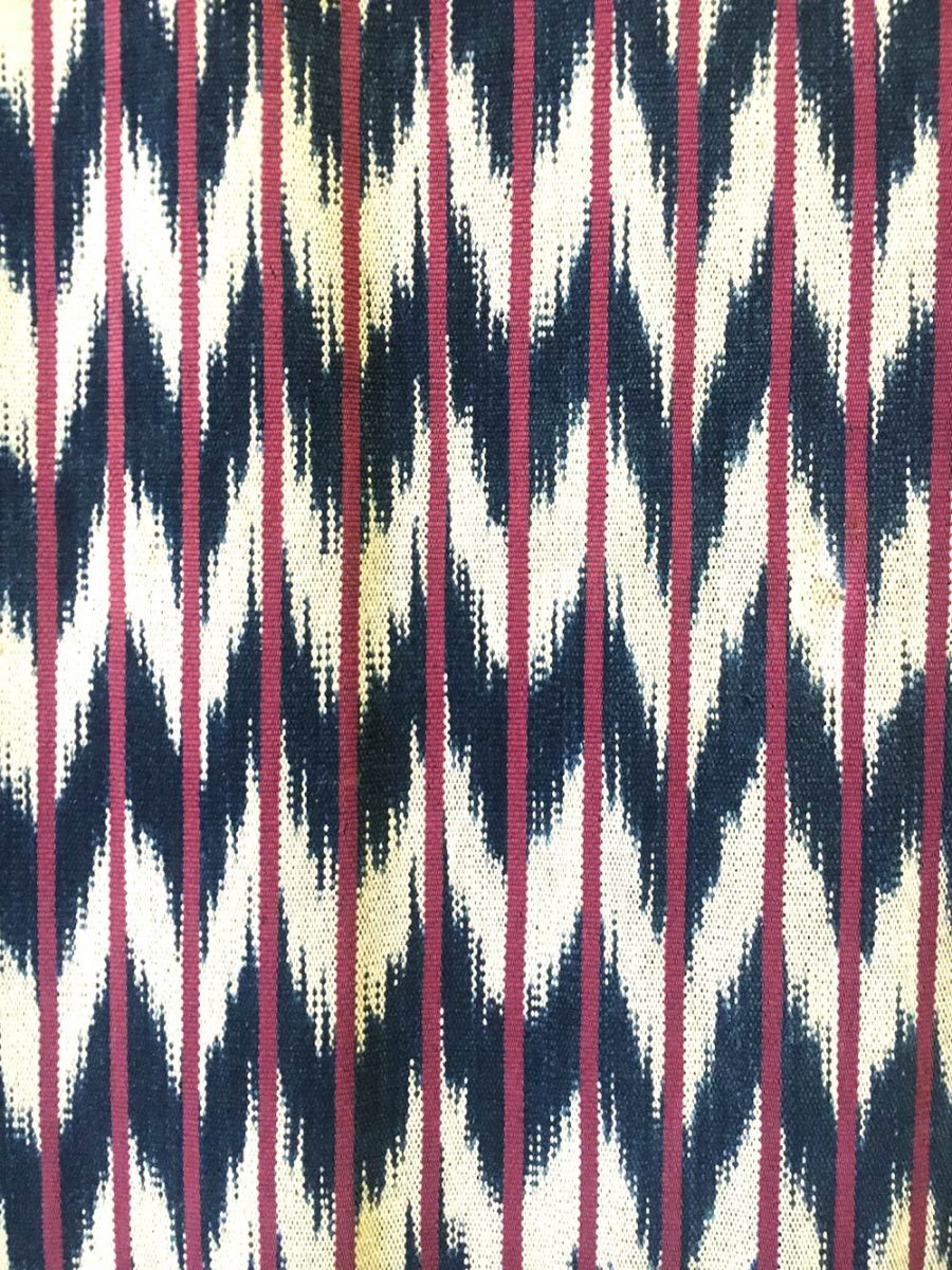 fabric at the Museo Textil de Oaxaca