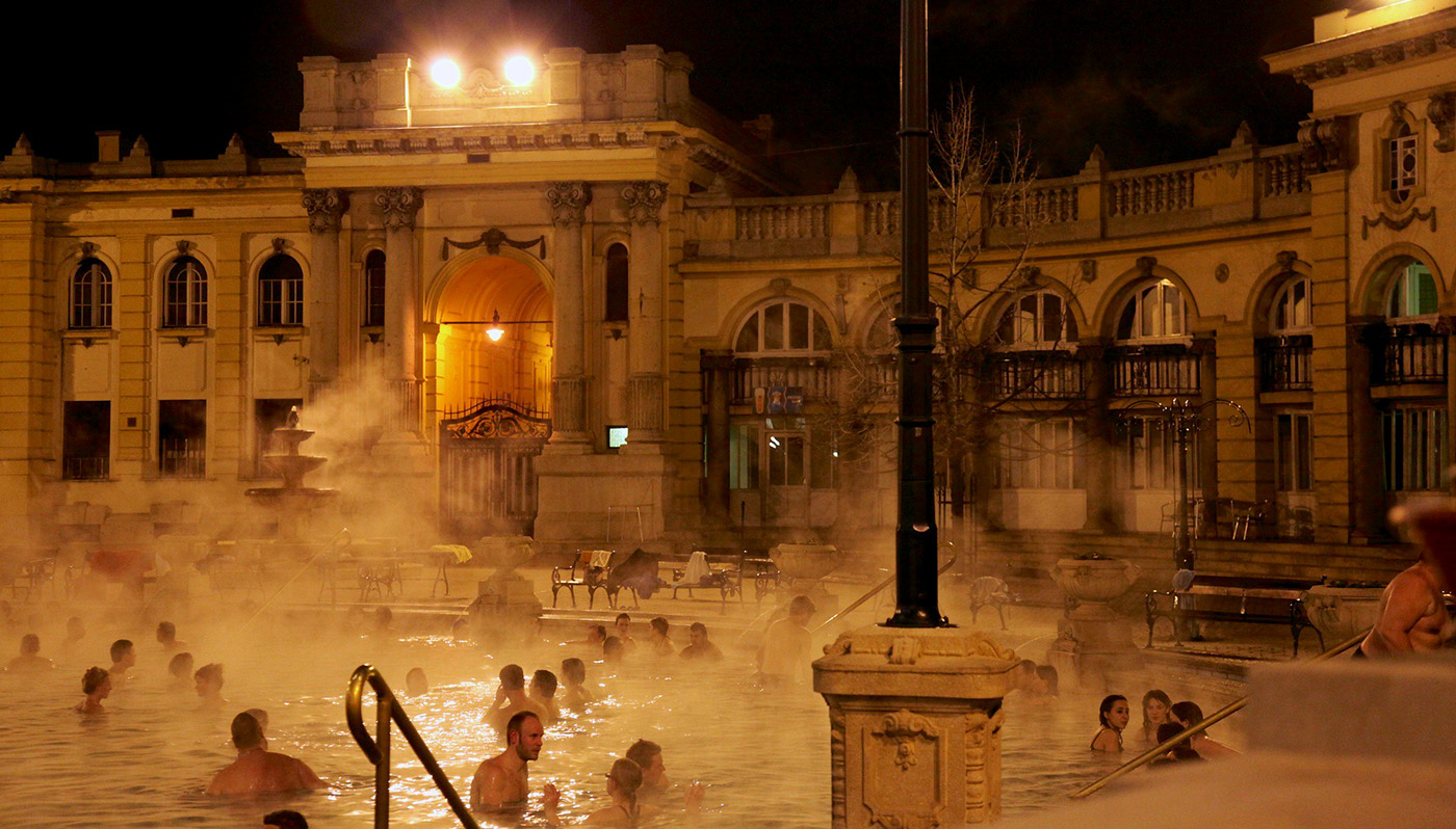 Szechenyi Ed Porras | Széchenyi Baths  -  Budapest