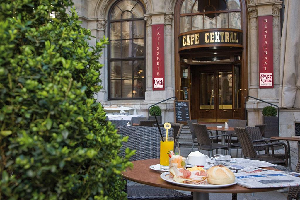 Vienna Café Central, Top Cafe in Vienna