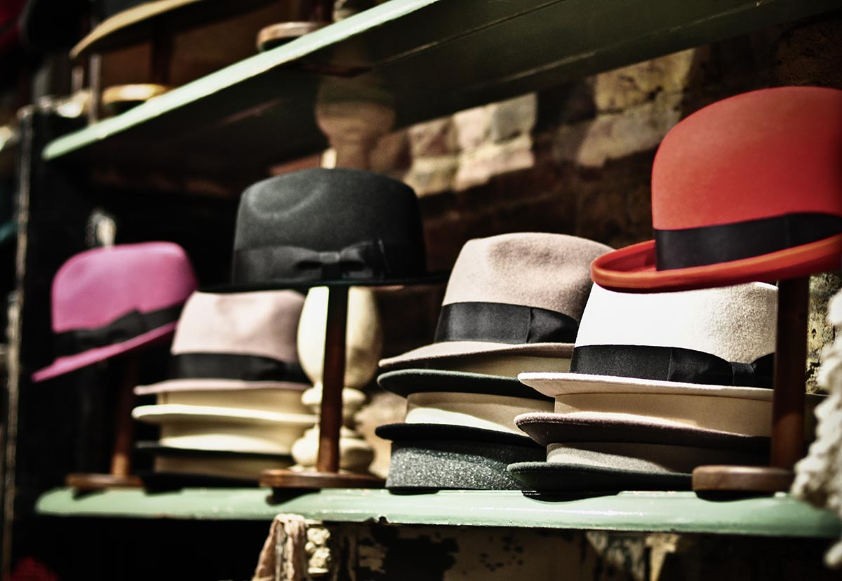 Hat Shop in Shoreditch, London