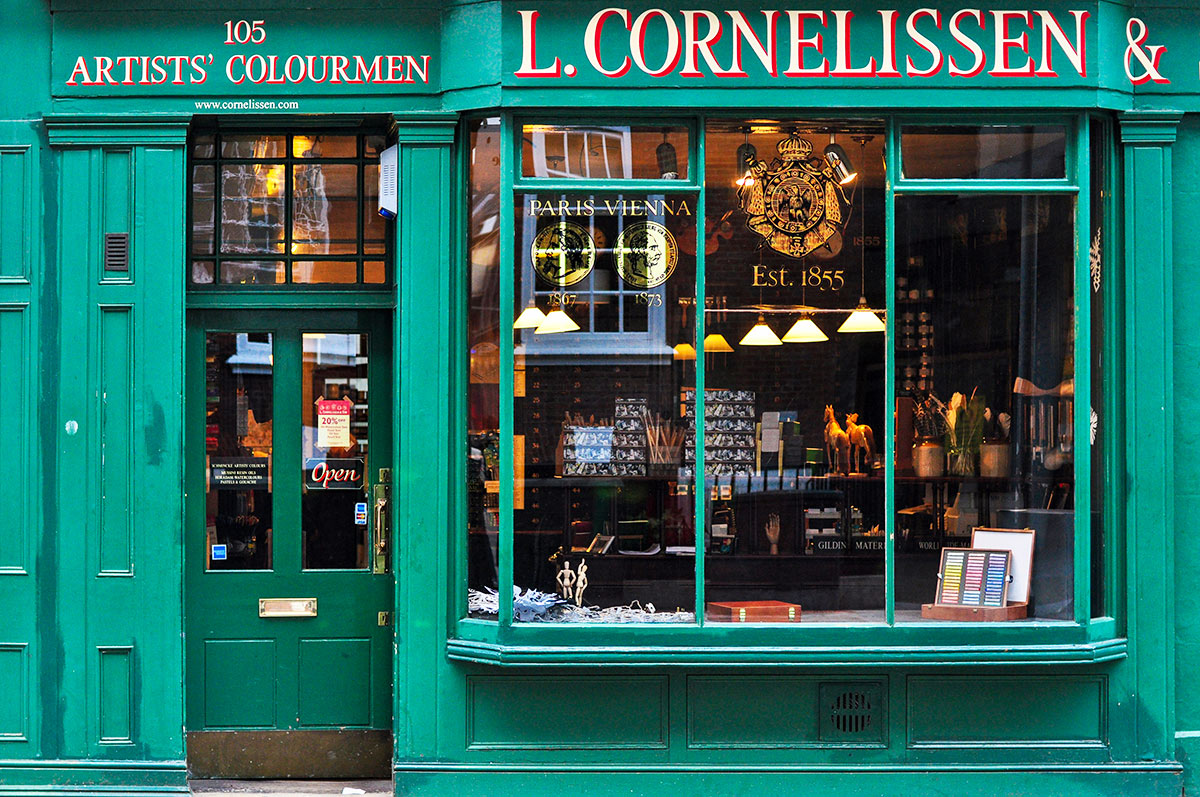 Art Supply Store London, L. Cornelissen & Son