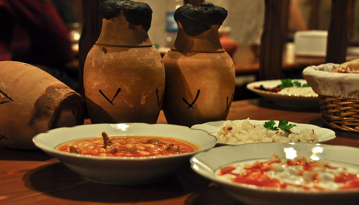 amazing Traditional food restaurant in Goreme, Nevşehir, Cappadocia