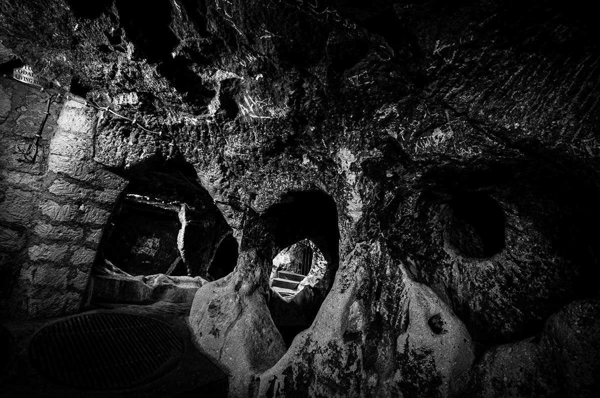 Kaymaklı Underground cave City - Cappadocia