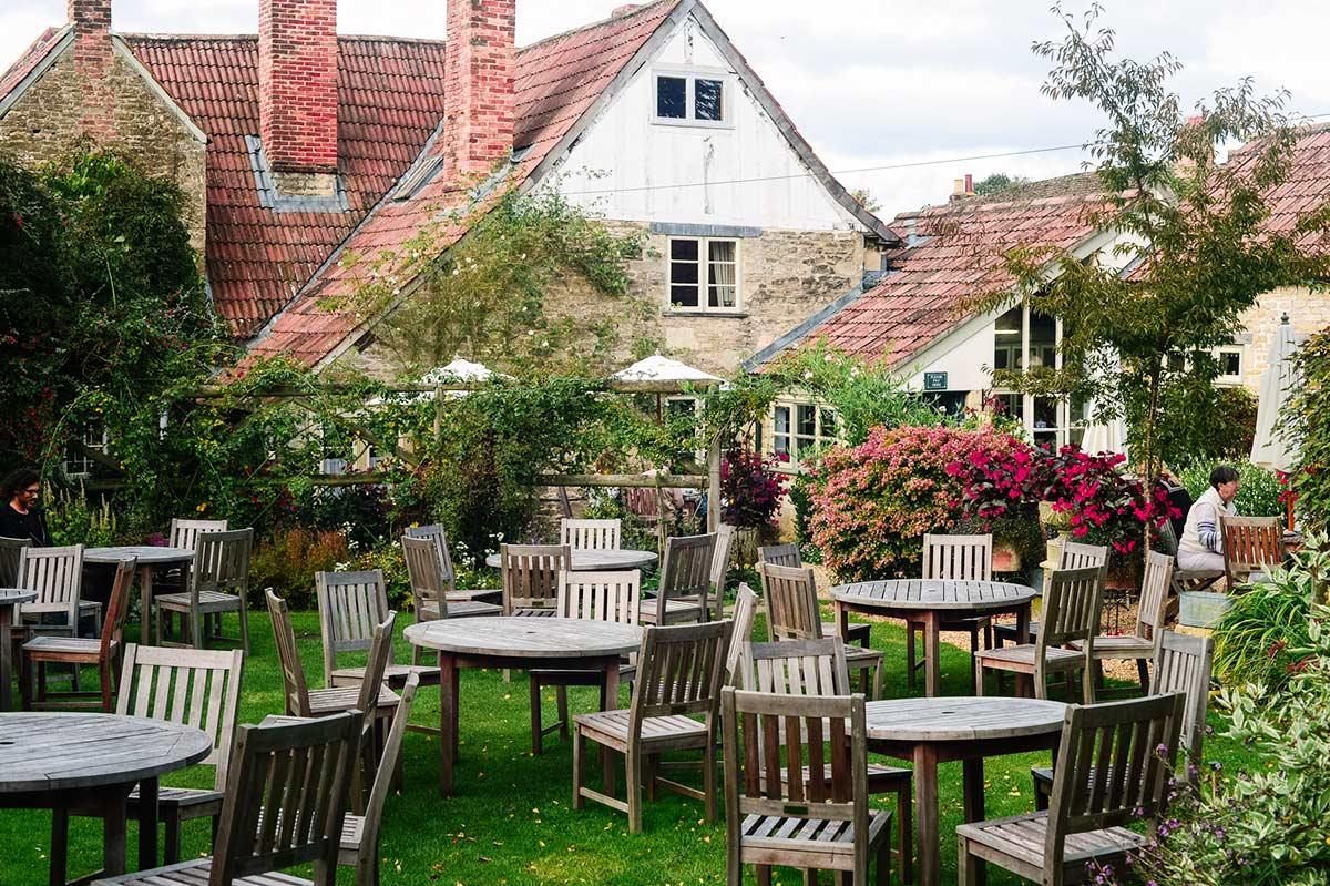 Somerset Village Lacock  tea house