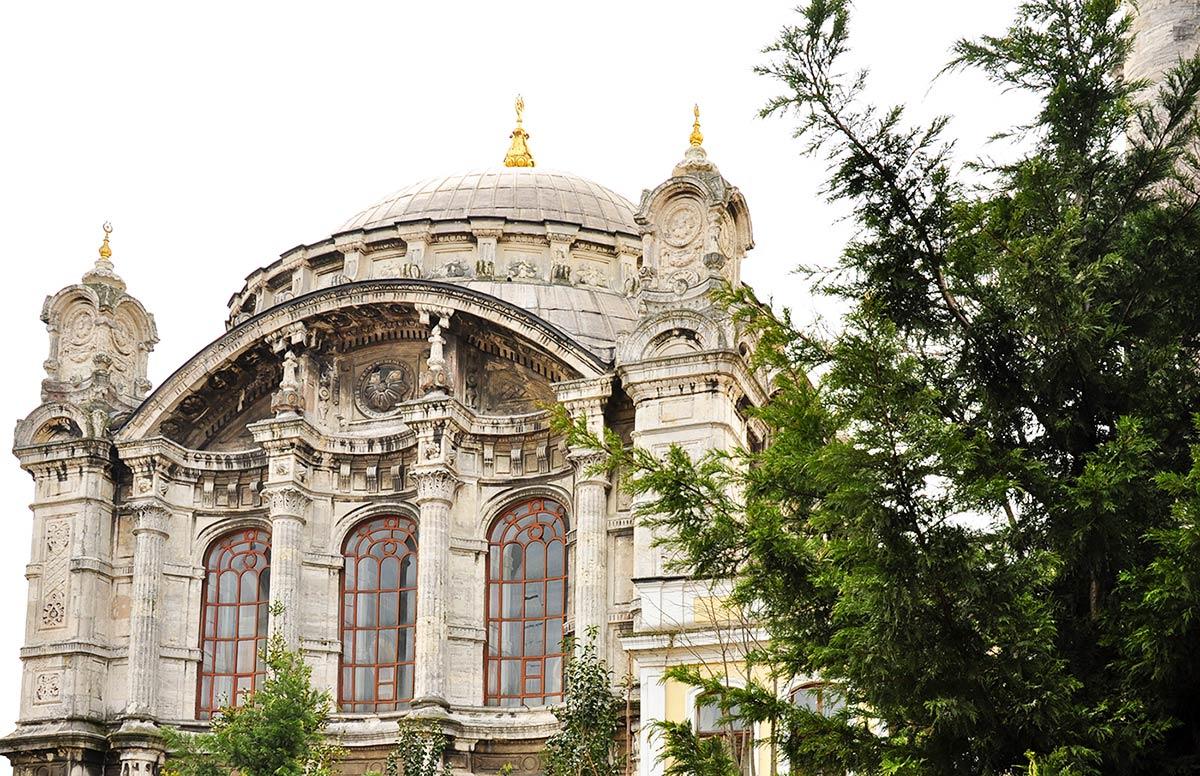 Mecidiye Mosque in  Ortaköy District - Istanbul