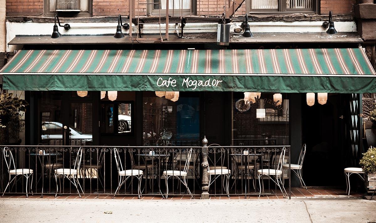 Cafe Mogador  -  Saint Marks Pl