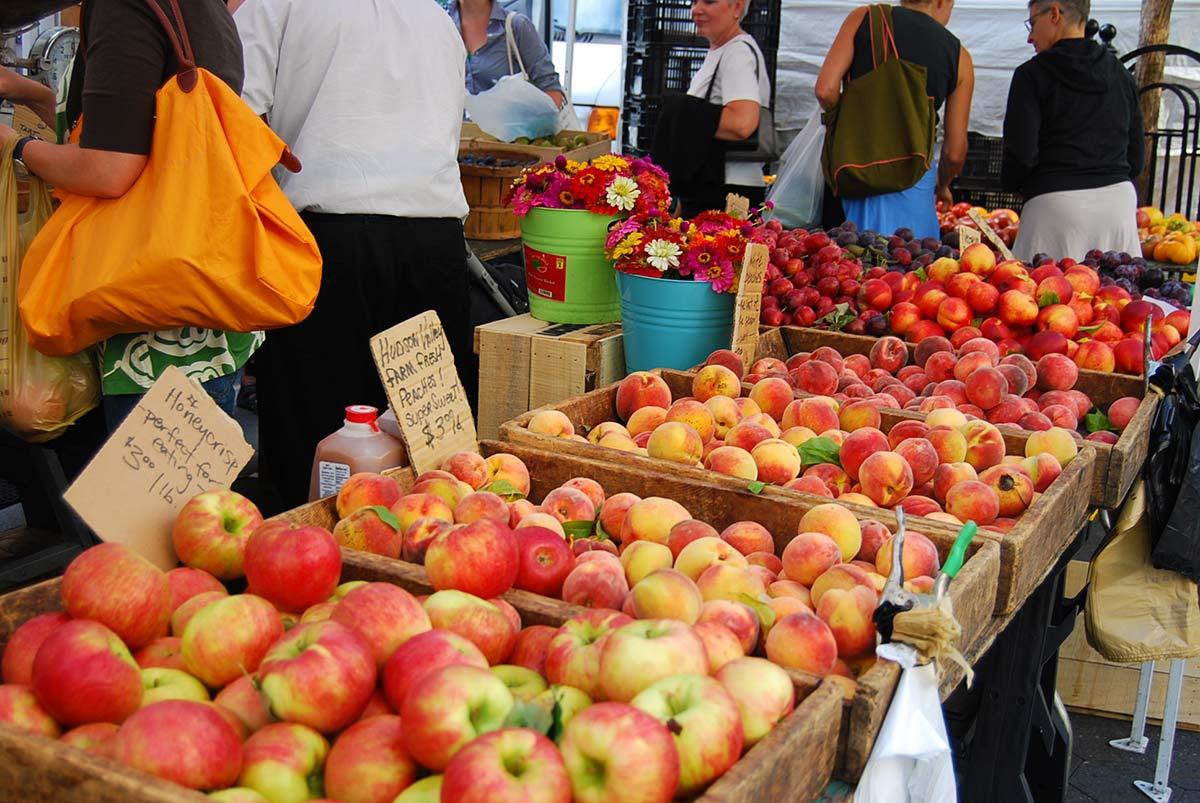 NYC Union Sq Farmers Market
