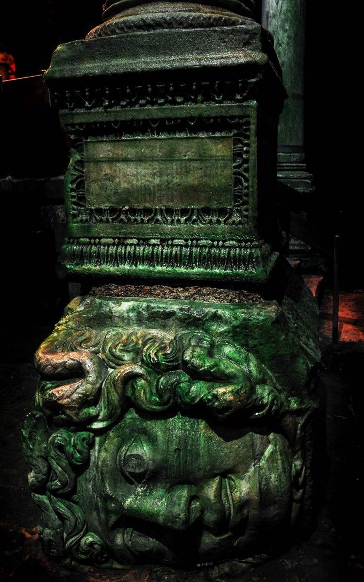 Yerebatan Sarnici or underground Basilica Cistern in Istanbul